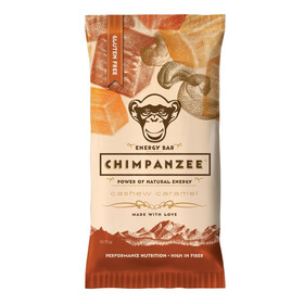 Chimpanzee Energetyczny baton wegetariański  Żywność dla sportowców Cashewnüsse & Karamel 55g